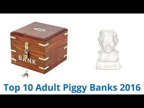 10 best adult piggy banks 2016 watch the video - Jumbo piggy banks for adults ...
