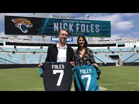 Nick Foles opens up about family, faith