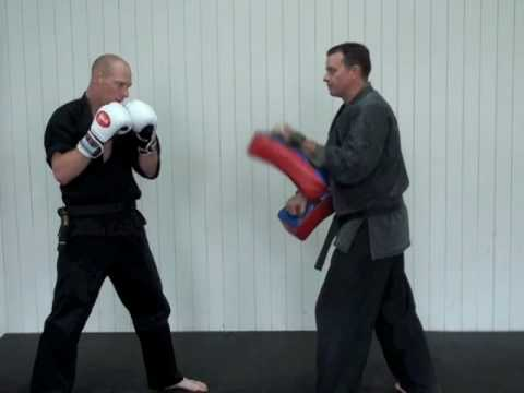 kickboxing - This is a quick work-out of basic kicks and punches. it is easy to remember and intense enough to get a great fitness work out. Great for kickboxing, boxing,...