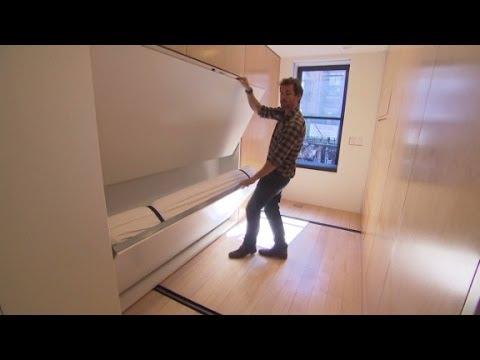 看起來空空的公寓索價100萬美金,下巴先不要掉下來…「機關」一出保證讓你讚不停!