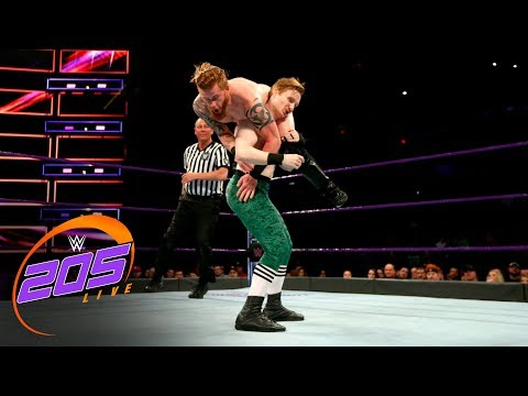 Gentleman Jack Gallagher vs. Murphy Myers: WWE 205 Live, March 13, 2018