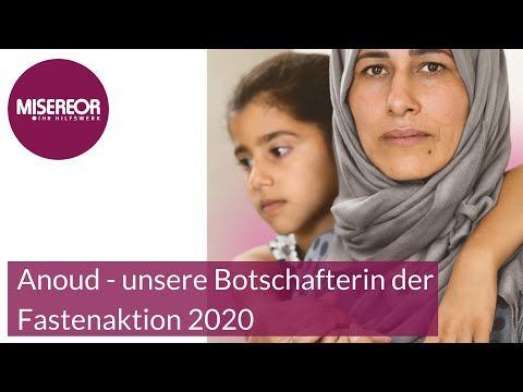 Anoud - unsere Botschafterin der Fastenaktion 2020