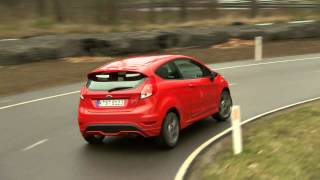2013 Ford Fiesta ST On The Track