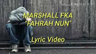 Download Lagu Marshall FKA ft  Ruatfeli - FAHRAH NUN Mp3