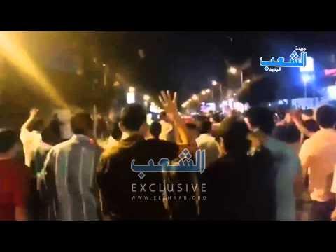 """أحرار المهندسين يعلون الهتاف: """"لن تركع أمة قائدها محمد"""""""