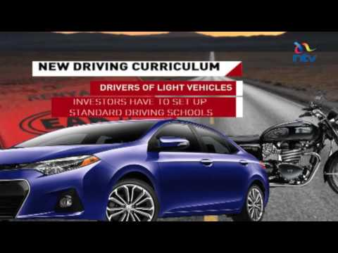 NTSA launches new driving curriculum for Kenyan drivers (видео)