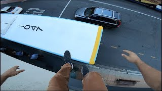 Late For Work POV (PARKOUR) GoPro7