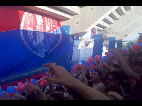 La Gloriosa en Rafaela - Alentemos todos juntos... - Clausura 2012 - La Gloriosa Butteler - San Lorenzo - Argentina - América del Sur