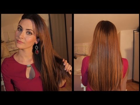 Cuidados para un pelo largo, sano y brillante. My secret to long, healthy and shiny hair.