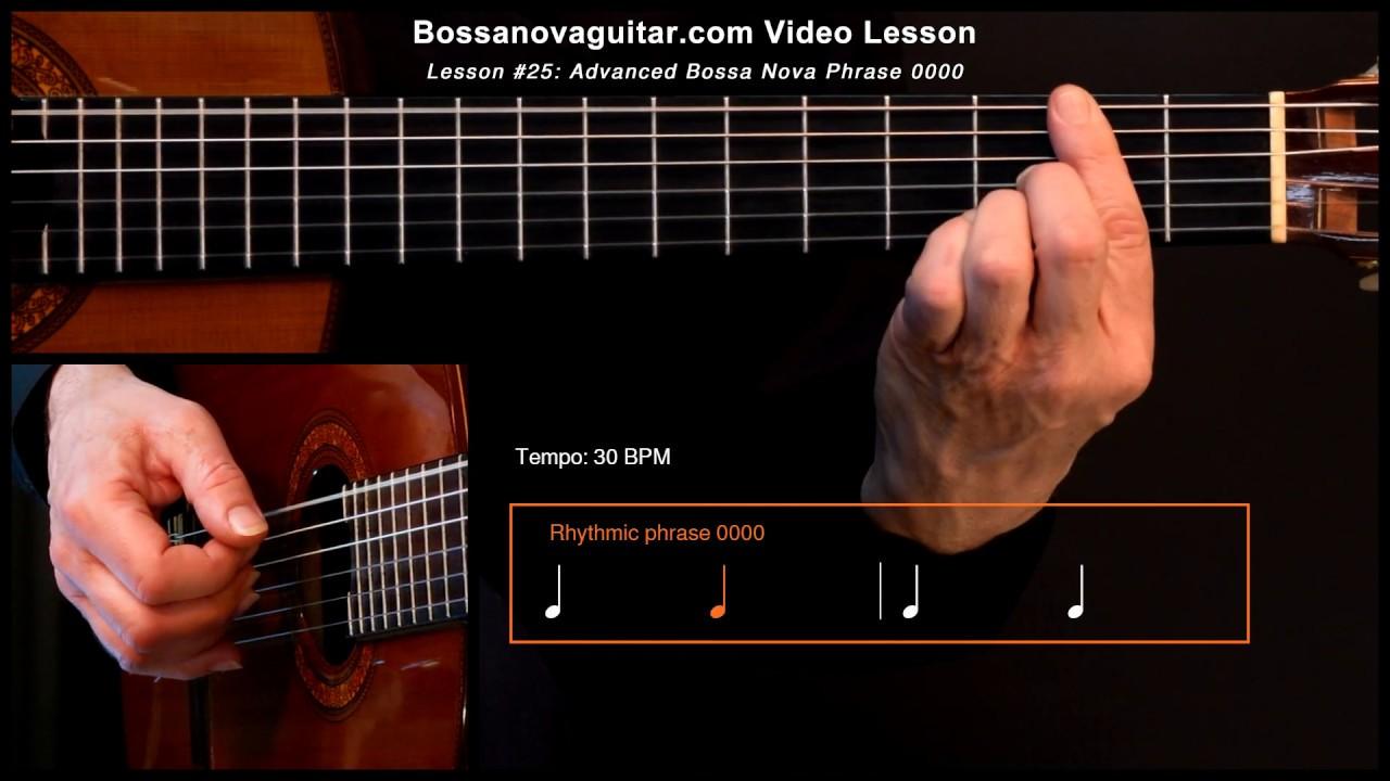 Linda Flor – Bossa Nova Guitar Lesson #25: Advanced Phrase 0000