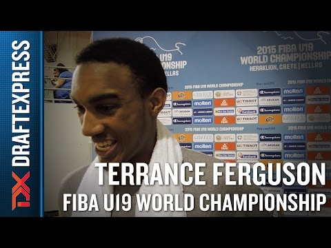 Terrance Furgeson 2015 FIBA U19 World Championship Interview