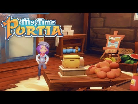 More Cooking!! - My Time At Portia (Alpha 6.0) – Part 172