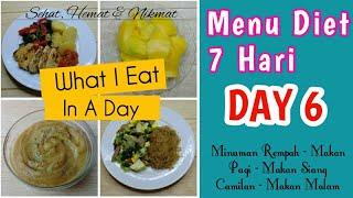 Download Menu Diet Seharian Diet 7 Hari Day 6 Menu Diet Hemat