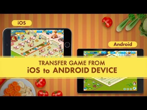 Star Chef - Transfer Your Game From IOS To Android Device Using Facebook