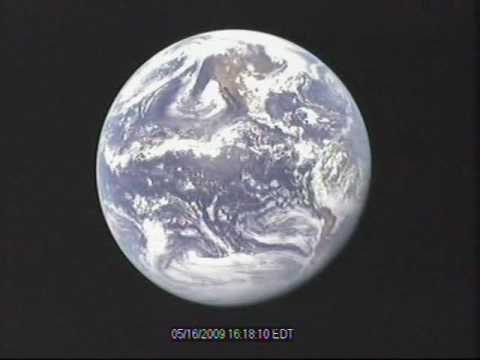Earth from space – 24 hour time-lapse