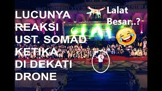 Video funny ustadz somad when the drone coming MP3, 3GP, MP4, WEBM, AVI, FLV Agustus 2018