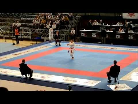 47th European Senior Karate Championships - Kata Individual Female Final.