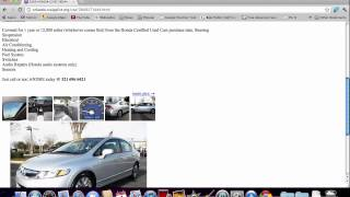Craigslist Orlando Used Cars for Sale by Owner - FL Search Tips