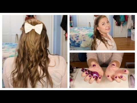 DID YOU KNOW First Day Of School Hair, Nails, And Makeup