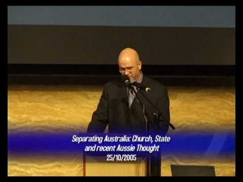 Separating Australia Church, State & recent Aussie thought intro