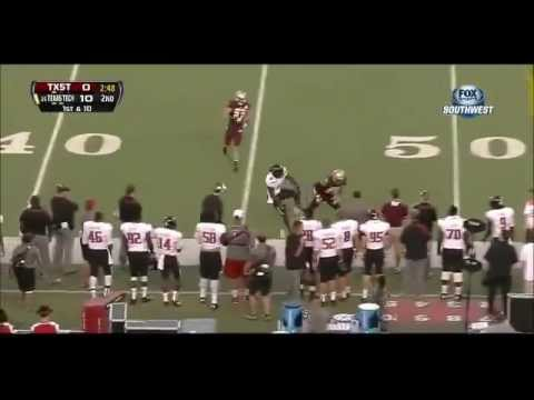 Craig Mager Game Highlights vs Texas Tech 2013 video.