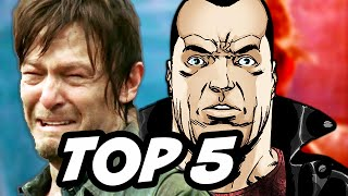 Walking Dead Season 6 Episode 6 - TOP 5 WTF and Negan Explained