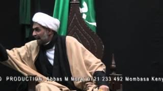 Gujarati - 01 NASSIHAT. 1st Lecture by Sheikh Moiseraza Momin. Ashrae Zainabia 1436. MOMBASA
