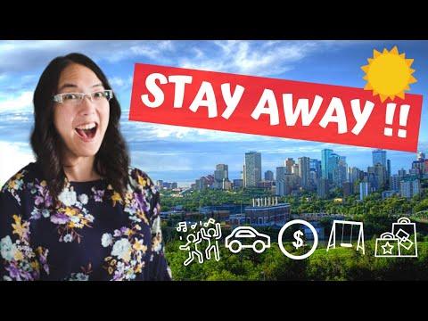 Top Ten Reasons NOT to Move to Edmonton, Alberta