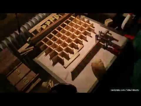 Architekturmodell Holz Zeitraffer