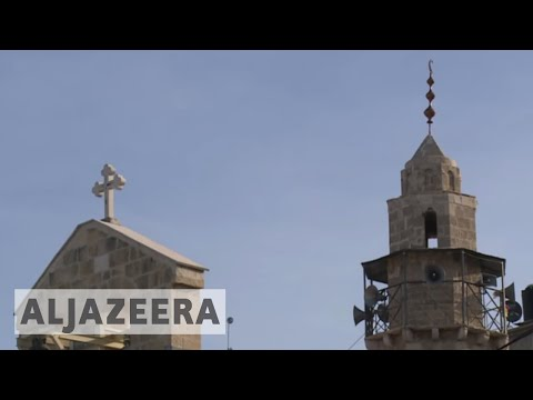 Palestinian Christians: 'Jerusalem is for the three religions'
