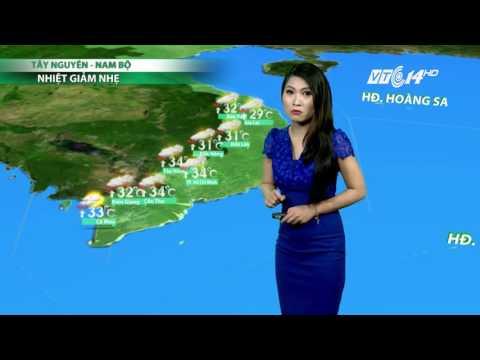 (VTC14)_Thời tiết 6h ngày 22.04.2017