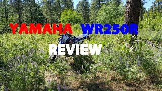 4. YAMAHA WR250R REVIEW/PERSONAL OPINION OF THE BIKE