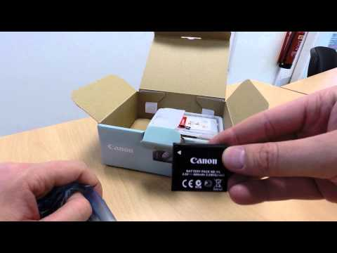 Canon Ixus 145 - Unboxing and first look!