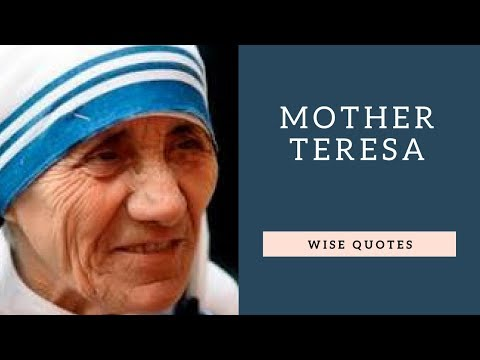 Family quotes - Mother Teresa Saying & Quote  Positive Thinking & Wise Quotes Salad  Motivation  Inspiration