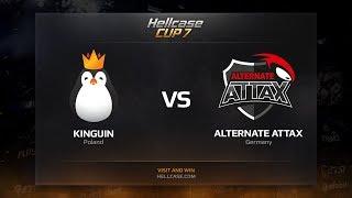 Kinguin vs ALTERNATE aTTaX, map 1 overpass, Hellcase Cup 7