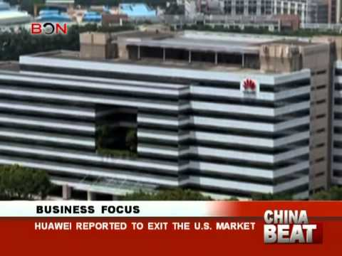 Huawei reported to exit the U.S. market- China Beat - Dec.2nd,2013 - BONTV China