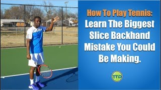 In this video you're going to learn what the biggest mistake you could be making when hitting a slice. The reason this is important...