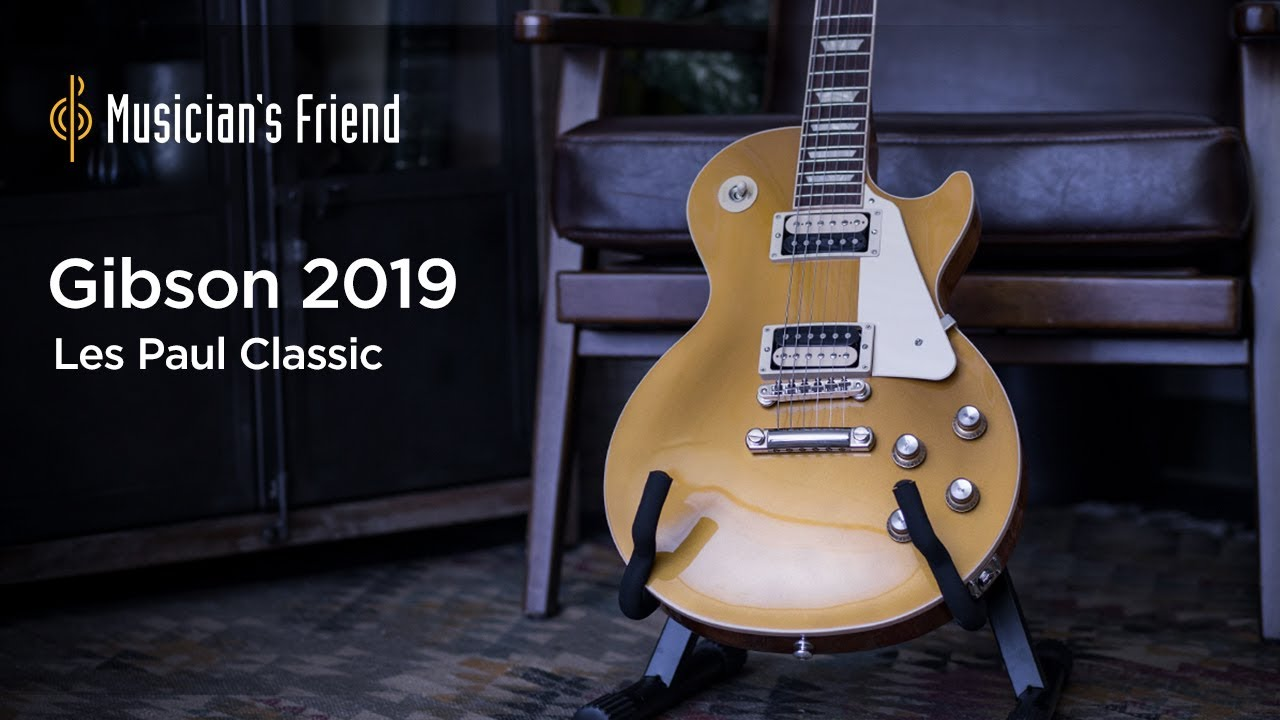 Gibson 2019 Les Paul Classic Electric Guitar Demo