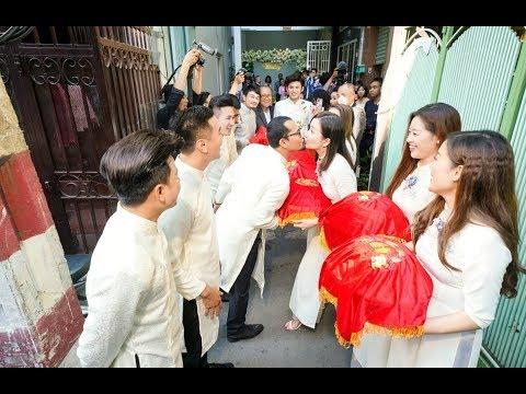 0 Đám cưới Vũ Ngọc Ánh   Anh Tài: Cô dâu chú rể rạng ngời hạnh phúc trong lễ rước dâu