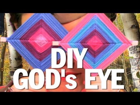 DIY GOD's EYE – Camp Threadbanger