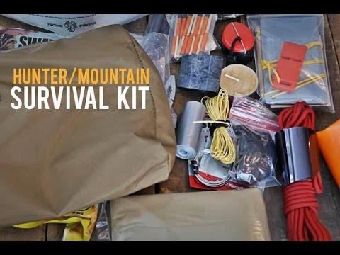 Hunter Mountain Survival Kit