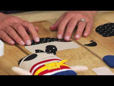 Sizzix Quilting: Jennifer Jangles Makes a Pirate and a Ballerina!