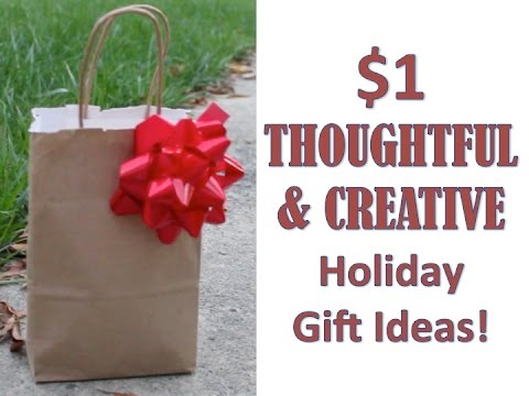 $1 HOLIDAY GIFT IDEAS | 2014 – Do It On A Dime