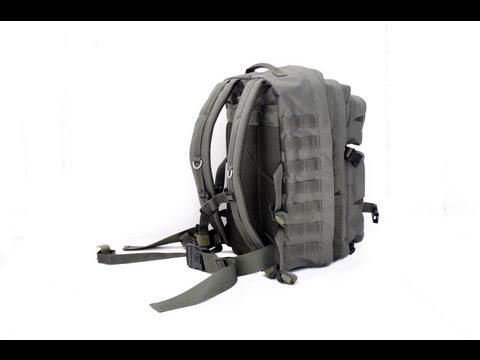Відеоогляд тактичного штурмового рюкзака Спартанець 45л