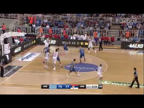 Τουρνουά Ακρόπολις: Ελλάδα – Σερβία: 80-85 (στην παράταση) | HIGHLIGHTS | 18/07/2019 | ΕΡΤ