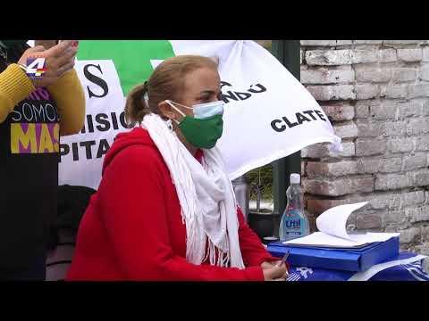La Federación de Funcionarios de Salud Pública trabaja en la recolección de firmas contra la LUC
