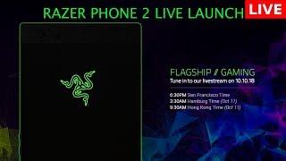 Razer Phone 2 Live launch event   Flagship // Gaming - Razer Keynote Event