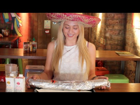 WATCH: Girl Takes On Belly Buster Burrito Challenge And Wins