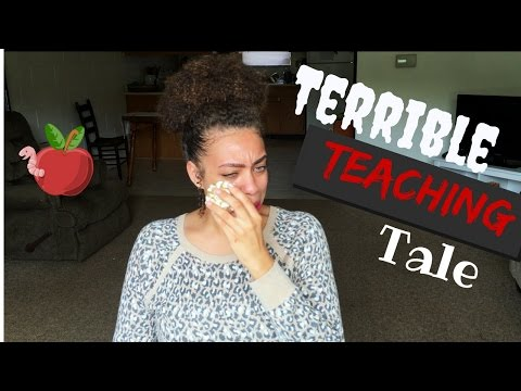 Story time: My First Time Substitute Teaching