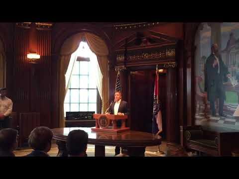 Missouri Gov. Eric Greitens announces his resignation
